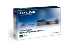 Switch Rackeable TP-LINK TL-SG1024D  24 Puertos Gigabit  Soporta MAC Adress