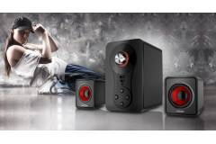 Parlantes 2.1 IVOOMI Modelo IVO-Q8 - Bluetooth