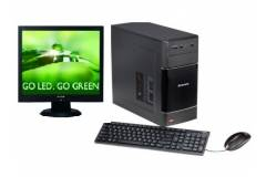 Equipo Lenovo H50-05 AMD A6 1.8 Ghz (6GB1TBDVD-RW) Windows 10 Torre + Monitor LED Viewsonic 17 VA705 - Factory Refurb