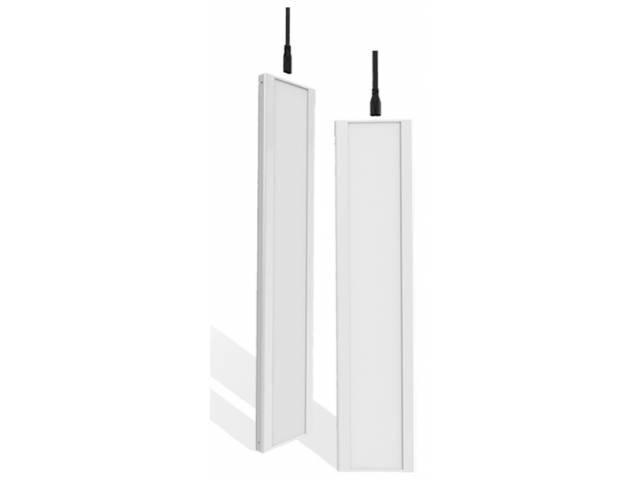 Panel LED Rectangular de Encastre 40W Para Montaje o Linga 120 x 12 Cm - Luz Cálida