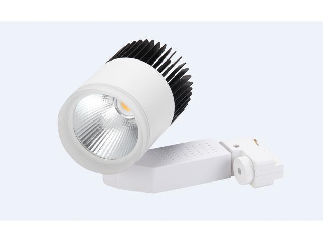 Spot LED Para Riel o Pared de 12W - Luz Fría