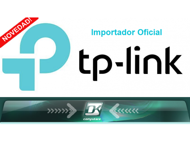 TP-LINK Arribando a OK Computers!!