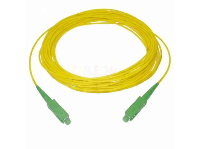 Patchcord Fibra MYConnection! MYC-OPCF15M SM 15 Metros