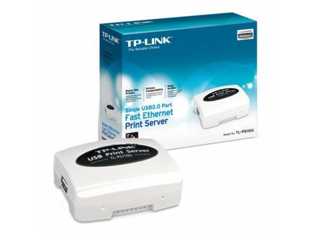 Print Server USB 2.0 TP-LINK TL-PS110U