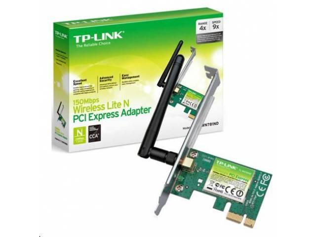 Tarjeta de Red PCI Xpress Wireless TP-LINK TL-WN781ND 150Mbps