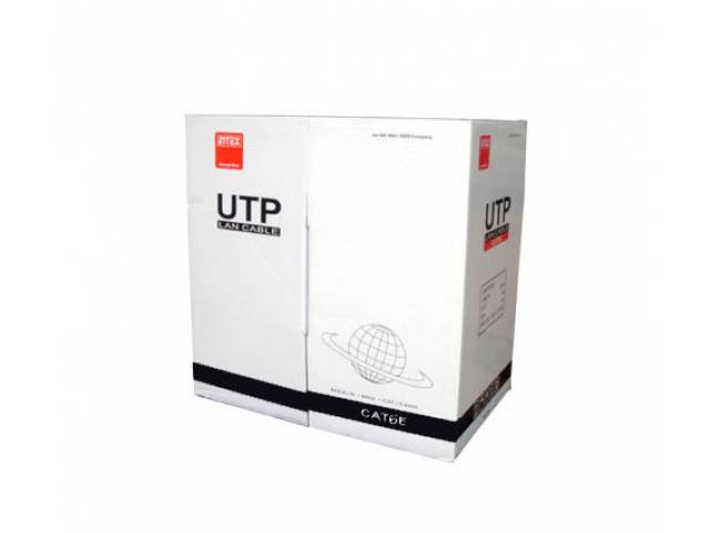Bobina cable UTP INTEX Cat 6E Gris IT-305M6E 305 Metros