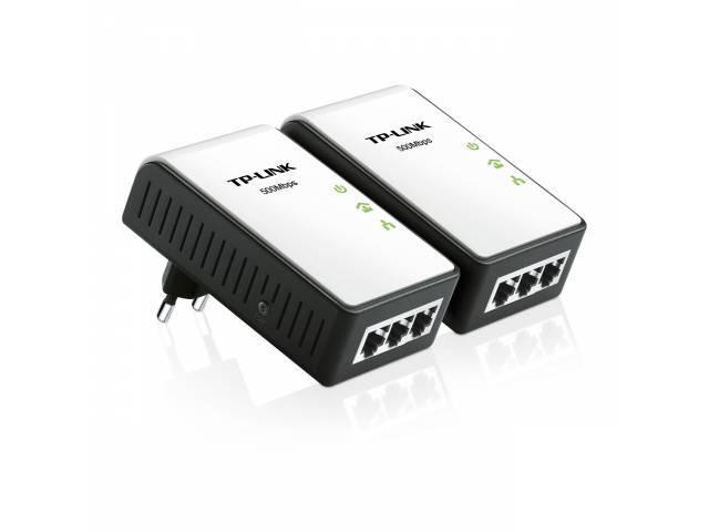 Adaptadores de Red a Corriente TP-LINK TL-PA4030 Nano Starter Kit Powerline 500 Mbps (KIT de 2 Unidades)