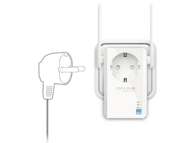 Extensor de alcance inalámbrico TP-LINK TL-WA860RE 300mbps