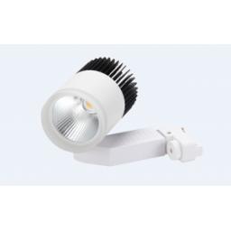 Spot LED Para Riel o Pared de 12W - Luz Cálida