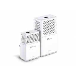 Adaptador de Red a Corriente WiFi AV1000 TP-LINK WPA7510  Powerline Gigabit Dual Band 300/433 Mbps (KIT de 2 Unidades)