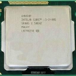 Procesador INTEL Core I5 2400S 2.5 GHz, Sin Cooler - OEM