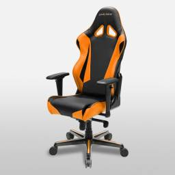 Silla Gamer DxRacer OH/RV001/NO Serie Racing Color Naranja