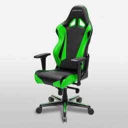 Silla Gamer DxRacer OH/RV001/NE Serie Racing Color Verde