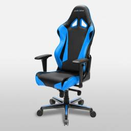 Silla Gamer DxRacer OH/RV001/NB Serie Racing Color Azul
