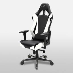 Silla Gamer DxRacer OH/RV001/NW Serie Racing Color Blanco