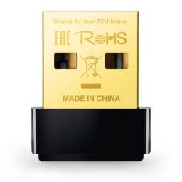 Adaptador Inalámbrico USB TP-LINK Archer T2U NANO Dual Band AC600