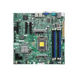 Mother SuperMicro X9SCL-F Socket H2 (LGA 1155) / OEM Sin chapita