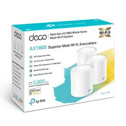 Access Point TP-LINK Deco X20 AX1800 WiFi6 (Pack 3 unidades)