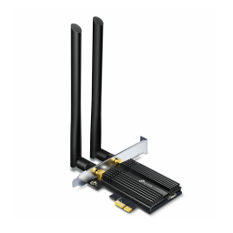 Adaptador Inalámbrico PCI-Express TP-LINK Archer TX50E WiFi 6 Dual Band AX3000+ Bluetooth 5.0