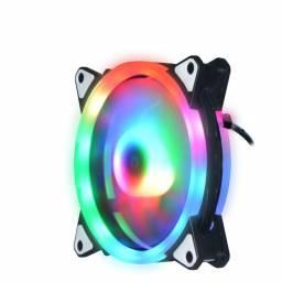 Fan Cooler LED Doble RGB Shot Gaming