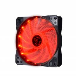 Fan Cooler LED Rojo Shot Gaming
