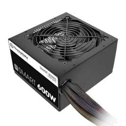 Fuente Thermaltake Smart 600W Reales 80 Plus