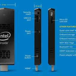 Equipo Recertificado Intel Compute Stick