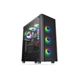 Gabinete Gamer Thermaltake V250 TG ARGB Lateral Transparente Mid Tower