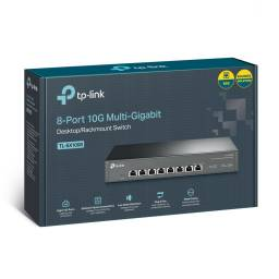 Switch TP-LINK TL-Sx1008 8 Puertos 10Gbps Rackeable