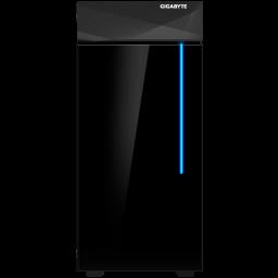 Gabinete Gamer GigaByte C200 Lateral Transparente RGB Frontal  Mid Tower