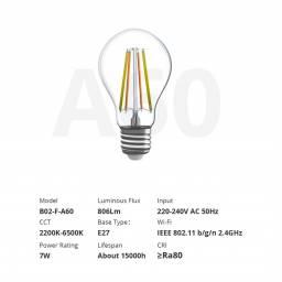 Lámpara LED Smart Wi-Fi Cálida y Fria Sonoff B02-F-A60