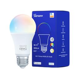 Lámpara LED Smart Wi-Fi Sonoff B05-B-A60 9W RGB