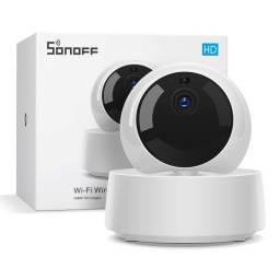 Cámara Wi-Fi Sonoff GK-200MP2-B Rotatoria Con Visión Nocturna