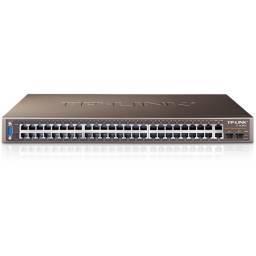 Switch TP-LINK TL-SL3452 48 Puertos 10/100 4 Puertos Gigabit 2 SFP Rackeable Administrable JetStream
