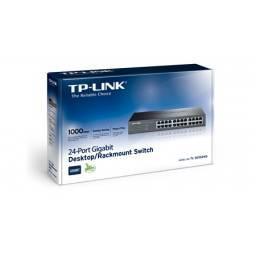 Switch TP-LINK TL-SG1024D  24 Puertos Gigabit  Carcasa Metálica Rackeable