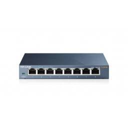 Switch TP-LINK TL-SG108 8 Puertos 10/100/1000 Carcasa Metálica