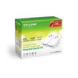 Adaptadores de Red a Corriente AV1200 TP-LINK TL-PA8030P KIT Powerline Gigabit ( KIT 2 Unidades)