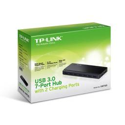 Hub TP-LINK de 7 Puertos USB 3.0 y 2 Puertos de Carga UH720
