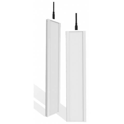 Panel LED Rectangular de Encastre 10W Para Montaje o Linga 30 x 12 Cm - Luz Fría