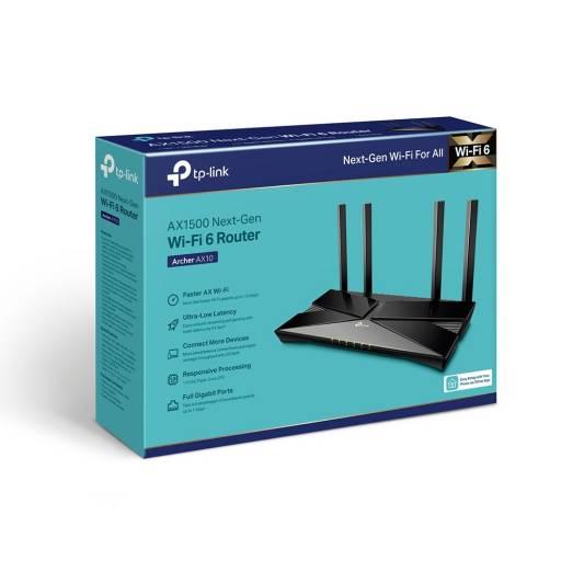 Router Inalámbrico Wi-Fi 6 TP-LINK Archer AX10 Dual Band Gigabit
