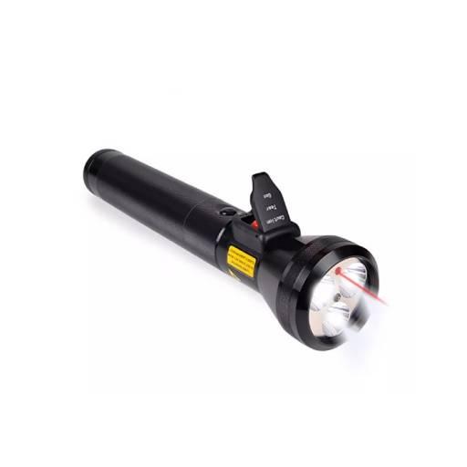 Linterna LED 31cm con Flashlight y bateria recargable