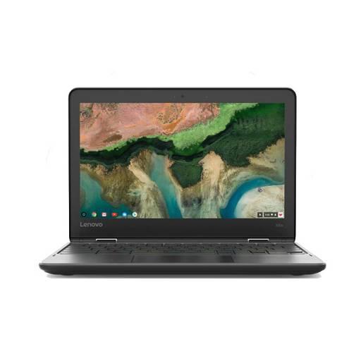 """Netbook Lenovo 100e Celeron Dual Core 1.1Ghz (4Gb/64Gb/DVDRW) 11.6"""" - Factory Ref.-Detalle en Carcasa"""