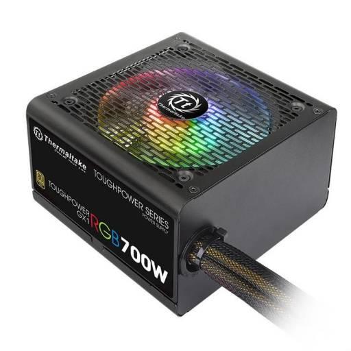 Fuente Thermaltake GX1 RGB 700W Reales 80 Plus Gold