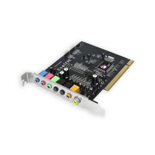 Tarjeta de Sonido PCI 7.1 Perfil Alto - Ref