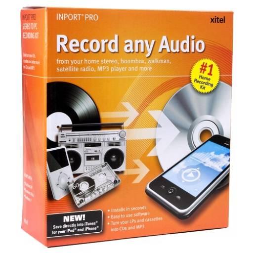 Capturadora de Audio a CD o MP3 XITEL