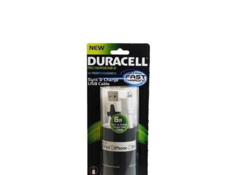 Cable USB de Datos y Carga Para Iphone Duracell - Open Box